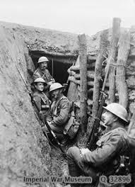 World War 1 Trench Photo