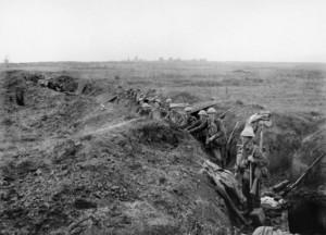 World War 1 Trenches Photo